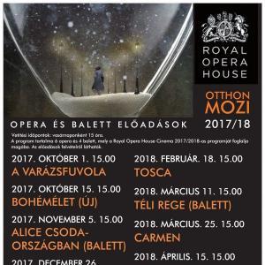 Royal Opera House opera- és balettelőadások