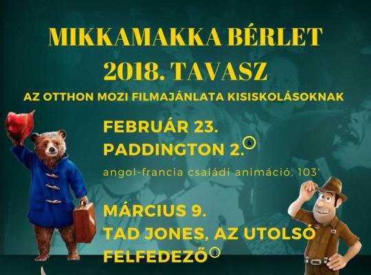 Mikkamakka 2018 tavasz