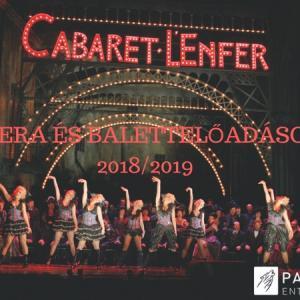 Opera- és balett előadások a londoni Royal Opera House-ból 2018-2019