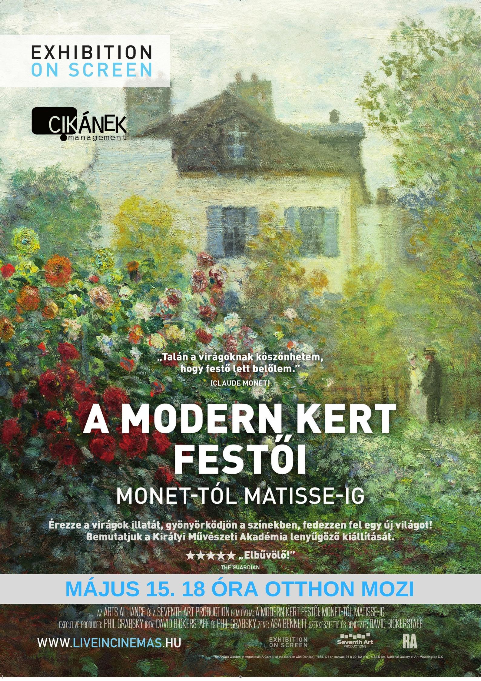 A modern kert festői: Monet-tól Matisse-ig