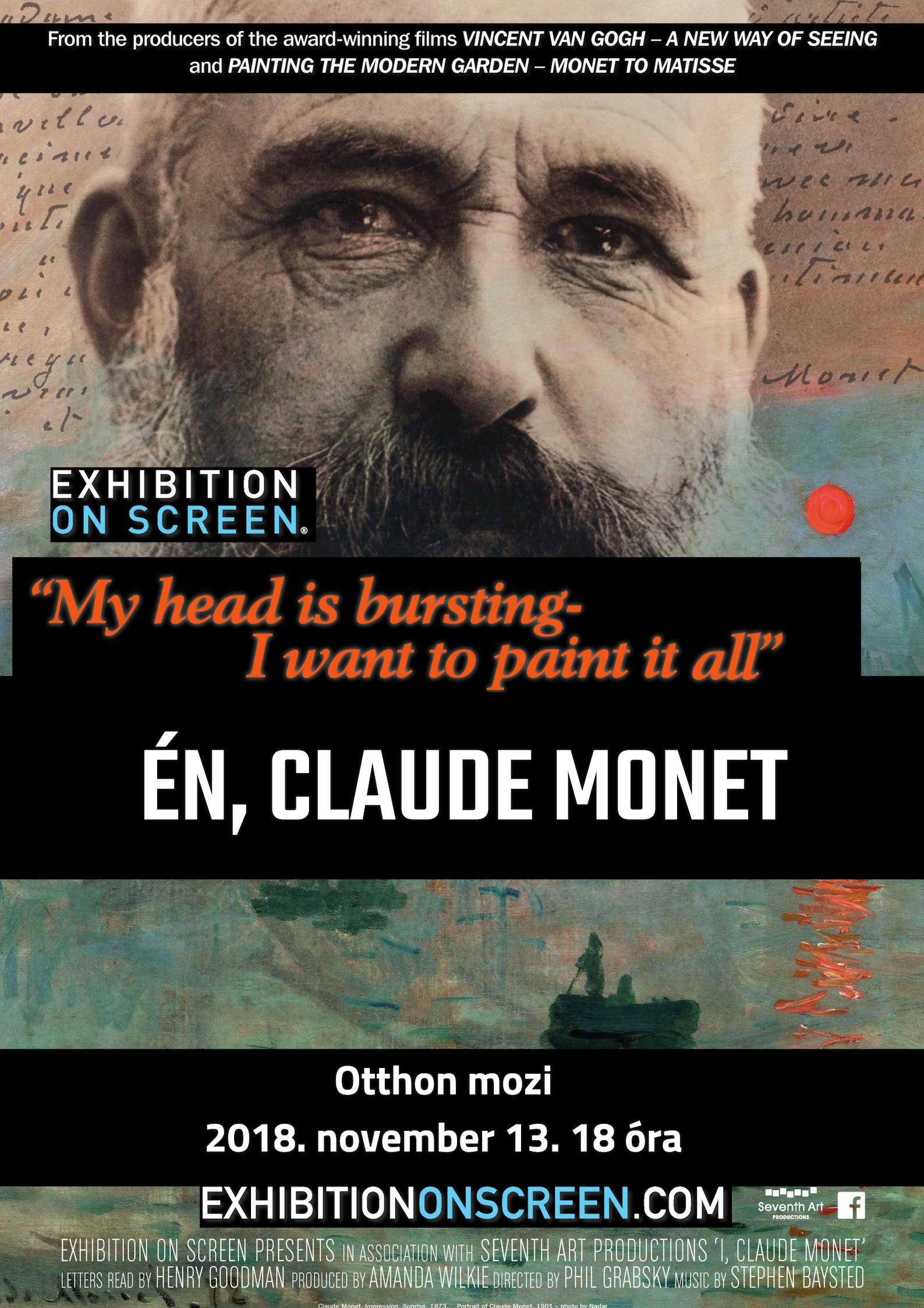 Én, Claude Monet (Művészettörténeti vetítés bevezetővel)