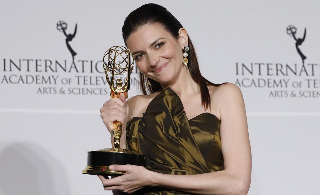 Gera Marina, az Örök tél c. film női főszereplője Emmy-díjat kapott alakításáért