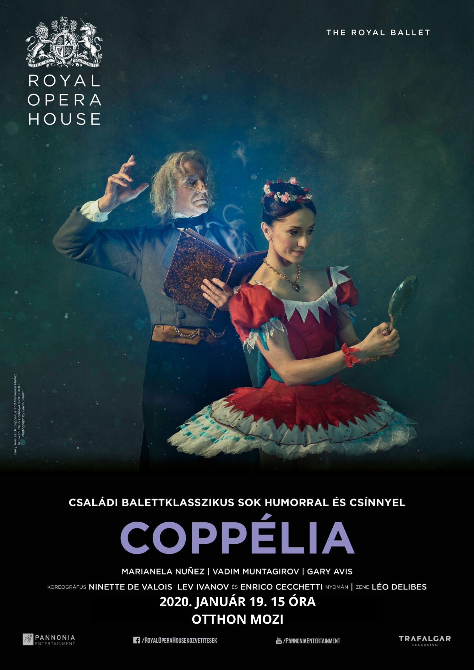 Coppélia (balett) Royal Opera House Cinema